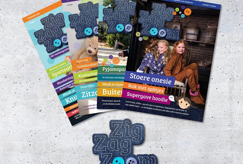 Ontwerp ZigZamZoom Magazine