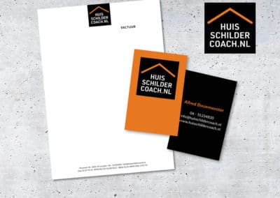 Ontwerp Huisschildercoach.nl