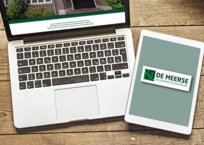 Website De Meerse Accountants & Adviseurs
